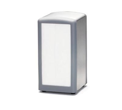 Tablecraft 3221G Stainless Steel/Plastic Napkin Dispenser, Full Size, Gray
