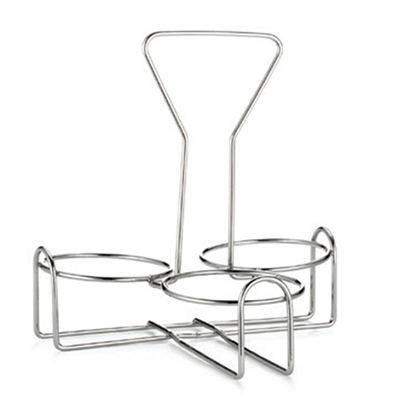 Tablecraft 355R3 3-Ring Rack w/ Chrome Plated Metal, Fits Model Number 355