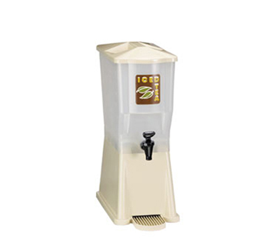 Tablecraft 356DPH 3-Gallon Beverage Dispenser, Heavy Duty Faucet, Almond