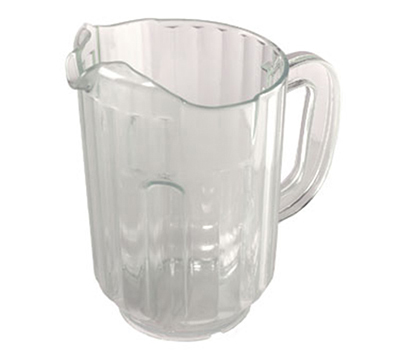 Tablecraft 360B 60-oz Pass-N-Pour Pitcher, SAN Plastic