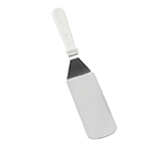 Tablecraft 4100W Food Turner w/ White ABS Handle, Stainless Steel Blade