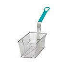 Tablecraft 42 Half Size Fryer Basket, Nickel Plated
