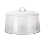Tablecraft 421 Styrene Cake Cover, 12 x 7-1/2-in, Plastic Handle