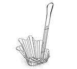 Tablecraft 44060 Taco Fryer Basket w/ 1-Bowl Capacity