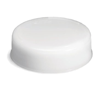 Tablecraft 63FCAP White Squeeze Bottle End Cap Only