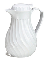 Tablecraft 544T White Decanter Top Only, Fits Model Number 544