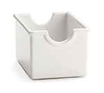 Tablecraft 56W White Styrene Sugar Packet Rack