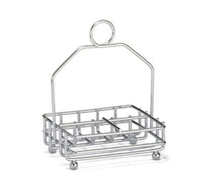 "Tablecraft 593R Chrome Plated Combination Rack, Fits 1-7/8"" Salt/Pepper Shakers"