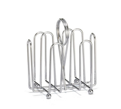 Tablecraft 597C Chrome Plated Jelly Packet Rack, Fits Packets Up To 2 x 1-1/2-in