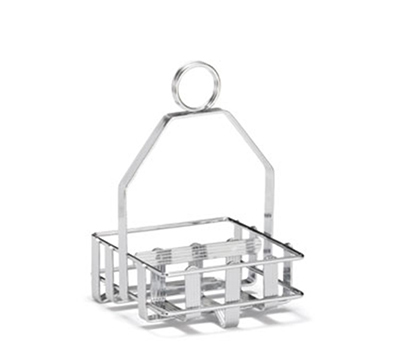 Tablecraft 607R Condiment Rack, Fits Up To 1-7/8-in Diameter Salt/Pepper Shakers