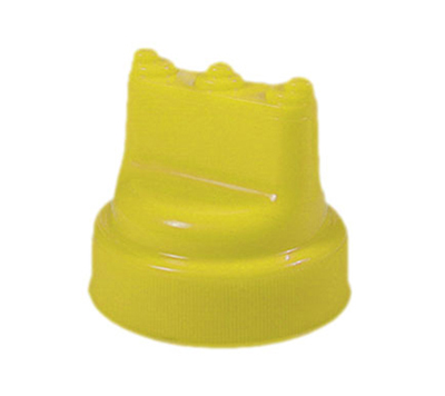 Tablecraft 63TM3 Yellow Three Tip Top Select Top, Fits 63-mm Wide Mouth Dispensers