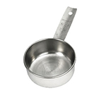 Tablecraft 724C 1/2-Cup Stainless Steel Measuring Cup, Standard Weight