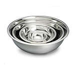 Tablecraft H827 Mixing Bowl w/ Approx. 8-qt Capacity, .8-mm Stainless
