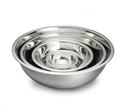 Tablecraft H824 Mixing Bowl w/ Approx. 3-qt Capacity, .8-mm Stainless