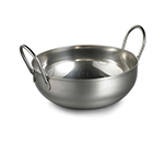 Tablecraft 839 22-oz Kady Serving Bowl - Looped Handles, Stainless