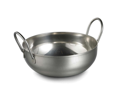 Tablecraft 840 30-oz Kady Serving Bowl - Looped Handles, Stainless
