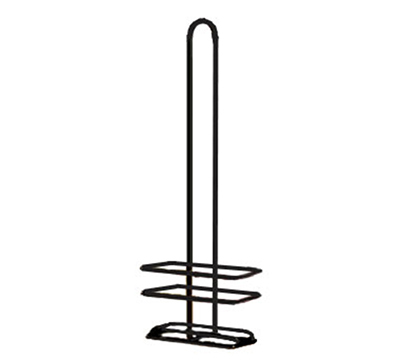 Tablecraft 916RBK Black Powder Coated Metal Cruet Rack, Fits H916NBK & H616NBK