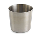 Tablecraft AC885S Fry Cup - Brushed Stainless