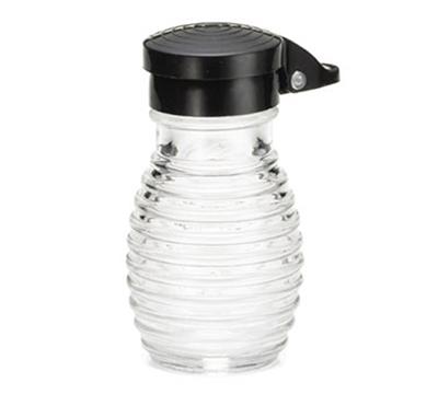 Tablecraft BH2MPBK 3.2 Salt/Pepper Shaker w/ Plastic Lid, Round