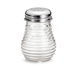 Tablecraft BH4 6-oz Glass Cheese Pepper Shaker w/ Chrome Plated Top