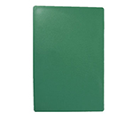 "Tablecraft CB1824GNA Green Polyethylene Cutting Board, 18 x 24 x 1/2"", NSF Approved"