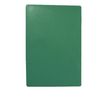 Tablecraft CB1824GNA Green Polyethylene Cutting Board, 18 x 24 x 1/2-in, NSF Approved