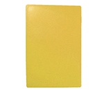"Tablecraft CB1824YA Yellow Polyethylene Cutting Board, 18 x 24 x 1/2"", NSF Approved"