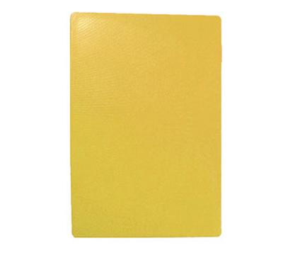 Tablecraft CB1824YA Yellow Polyethylene Cutting Board, 18 x 24 x 1/2-in, NSF Approved