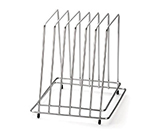 Tablecraft CBR6 Stainless Steel Cutting Board Storage Rack