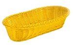 Tablecraft HM1185A Basket, 11.5 x 8.5 x 3.5-in, Assorted Color Polypropylene Cord