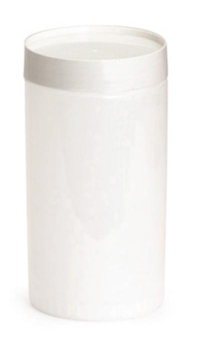 Tablecraft JC1032A Polyethylene Backup Unit w/ Assorted Color-Coded Cap, Quart Size