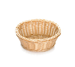 Tablecraft M1174W Natural Oval Basket, 9-1/4 x 6-1/4 x 3-1/4-in, Polypropylene