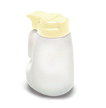 Tablecraft MW32BE 32-oz Polyethylene Option Dispenser w/ Beige ABS Top