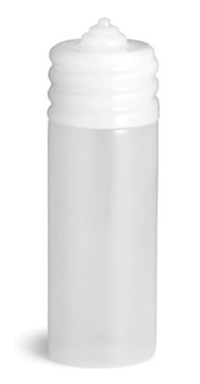 Tablecraft N20C 20-oz Wide Mouth Squeeze Dispenser, One Tip Top, Natural