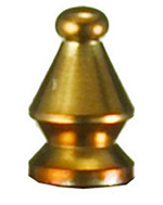 Tablecraft PM4 Brass Cap, Fits Model Number PM1908 & PM1918