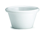 Tablecraft RAM15W 1-1/2-oz Plain White Melamine Ramekin