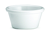 Tablecraft RAM2W 2-oz Plain White Melamine Ramekin