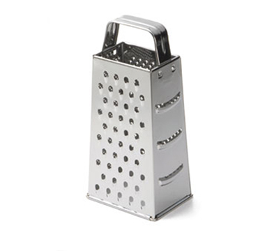 Tablecraft SG200 Stainless Steel Tapered Grater, 3 x 4 x 9-in
