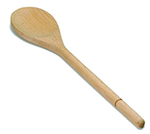 Tablecraft W12 12-in Beech Wood Wooden Spoon