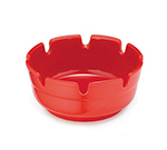 Tablecraft ST365R-1 Red Phenolic Deep Well Ashtray, 3-7/8 x 1-3/4""