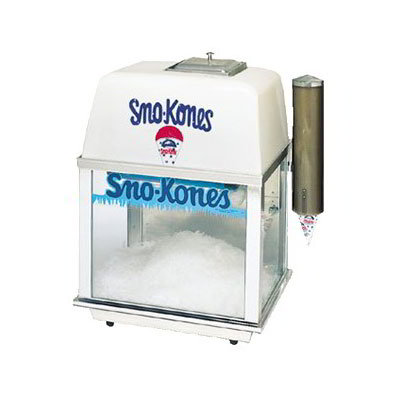 Gold Medal 1001 Compact Bliz Whiz Snow Cone Machine w/ 500-lbs/1-hr Capacity