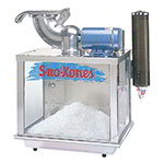 Gold Medal 1009 Battery-Operated Sno-Konette Ice Shaver w/ 500-lb/hr, Dipper, Dispenser & Scoop