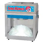 Gold Medal 1020 Shavatron Ice Shaver Snow Cone Machine w/ 500-lb/hr & Lighted Stainless Dome