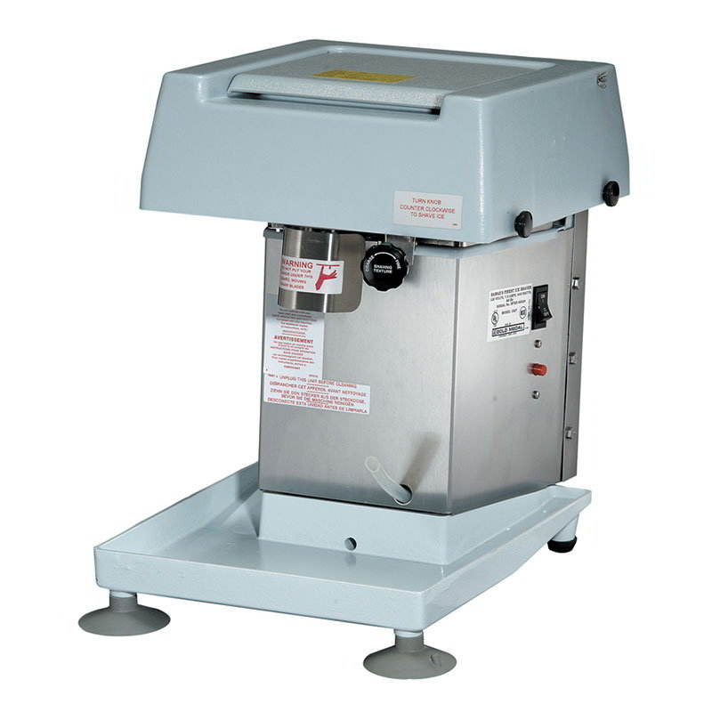 Gold Medal 1027 Hawaiis Finest Shave Ice Machine w/ 8-lb ...