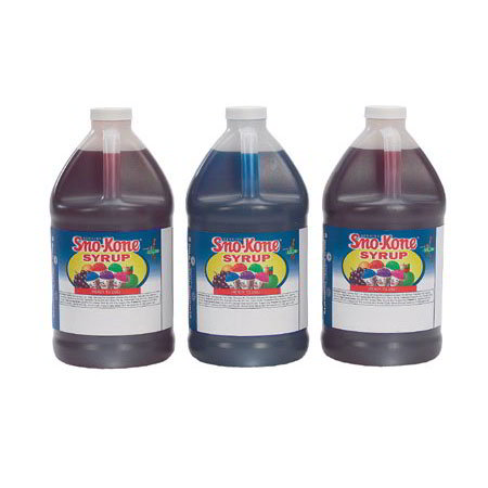 Gold Medal 1050 Ready-To-Use Syrup w/ (4)1-gal Jugs, Strawberry