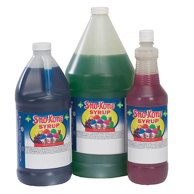Gold Medal 1054 Ready-To-Use Flavor Syrup, Lime, (4) 1-Gallons/Case
