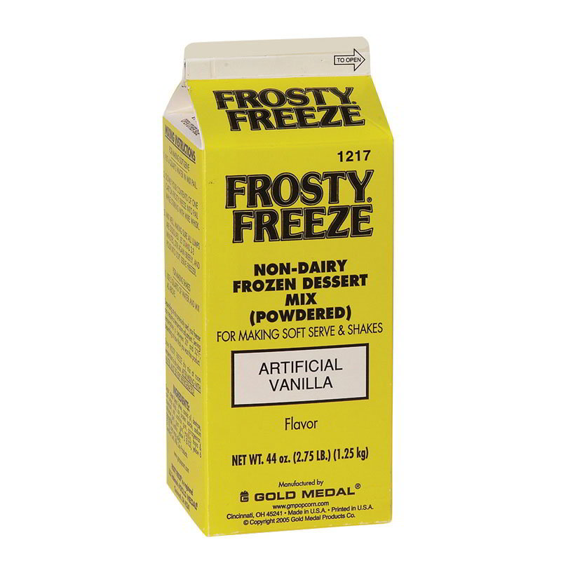 Gold Medal 1217 Non Dairy Dry Frosty Freeze Soft Serve Mix