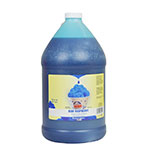 Gold Medal 1225 Blue Raspberry Sno Treat Flavor, (4) 1 Gallon Per Case