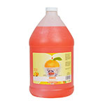 Gold Medal 1228 Orange Sno Treat Flavor, (4) 1 Gallon Per Case