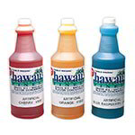 Gold Medal 1374 1-qt. Hawaii's Finest Shave Ice/Sno-Kone Blue Coconut Flavor Concentrate